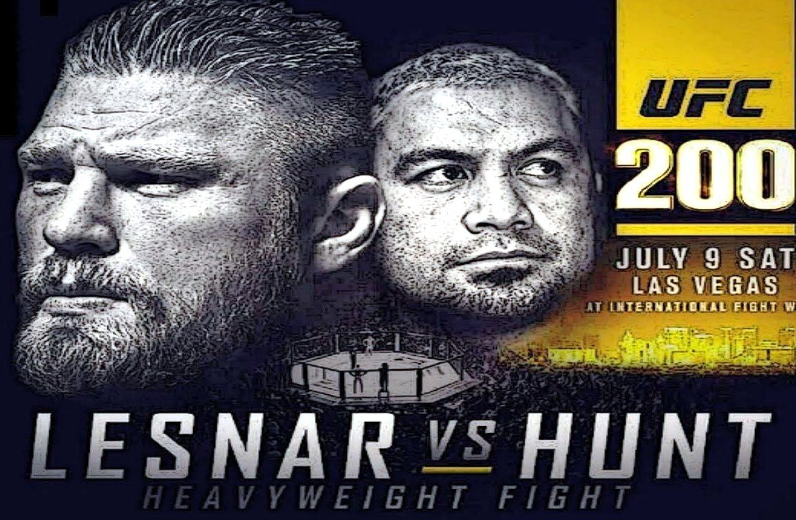 Brock Lesnar vs Mark Hunt Fight UFC 200 July 9 2016 Preview, Betting Odds, Live Streaming, Prediction, Stats And News