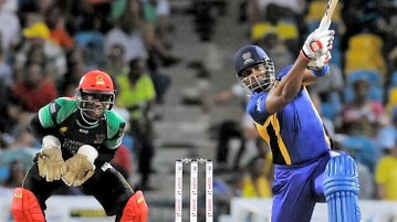 St. Lucia Zouks vs Barbados Tridents CPL 2016