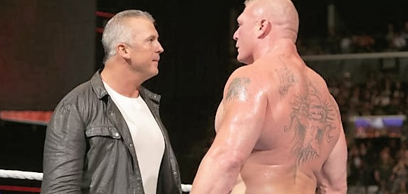 WWE plans to have a Shane McMahon and Brock Lesnar feud
