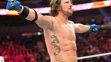 WWE superstar AJ Styles has some strong words for Jon Stewart