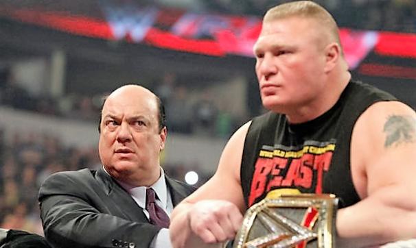 Paul Heyman teases a match between the Rock and Brock Lesnar