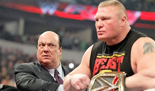 Paul Heyman teases a match between the Rock and Brock Lesnar