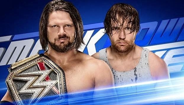 AJ Styles vs Dean Ambrose