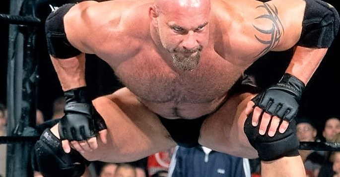 Addressing Goldberg's rumors of an in ring return for a match; or maybe two