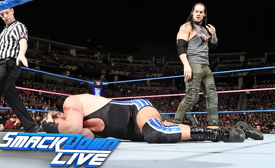 WWE SmackDown Live Results October 18 - AJ Styles vs Ellsworth And More
