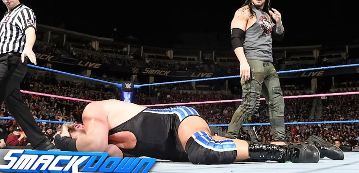 Baron Corbin vs Jack Swagger Smackdown Live October 18