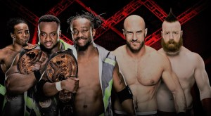 Cesaro and Sheamus vs The New Day