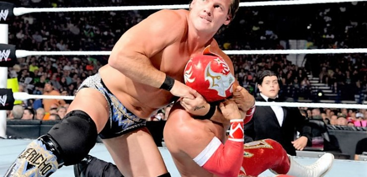 Chris Jericho and Sin Cara