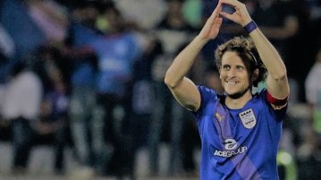 Forlan scores hat-trick in Mumbai City's big win over Kerala