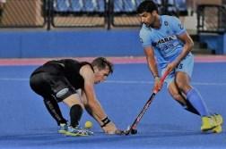 India vs New Zealand Hockey Match