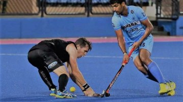 India vs New Zealand Hockey Match