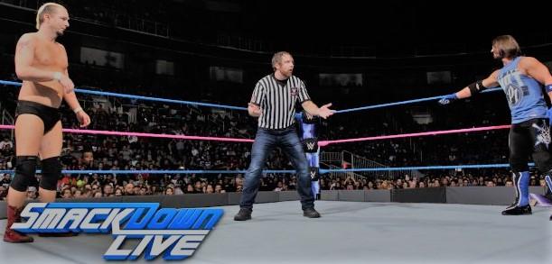 James Ellsworth vs AJ Styles