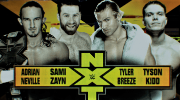 WWE NXT Preview: Fatal four way match to name a new number one contender!