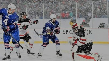 2018 IIHF Ice Hockey World Championship USA vs Canada