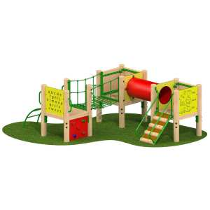 cygnet tower, Playcubed, Valley Provincial, Primary school playground, recreation area, playground installation, playground construction, bespoke playground design, playground landscaping, playground activity frame, educational play