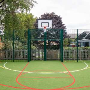metal goal ends, ball games, sport pitch installation, Playcubed, Valley Provincial, Primary school playground, recreation area, sport pitch construction, bespoke sport pitch design, playground equipment, inclusive play
