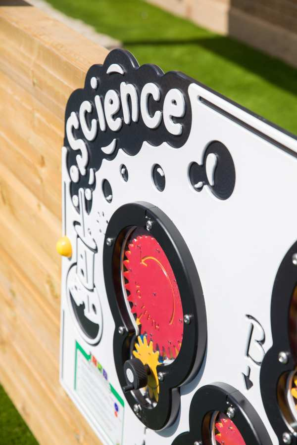 science panels, Playcubed, Valley Provincial, Primary school playground, playground installation, playground construction, bespoke playground design, playground equipment, educational play