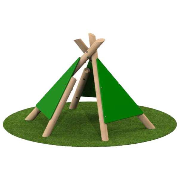 Wig Wam, Playcubed, Valley Provincial, Primary school playground, playground installation, playground construction, bespoke playground design, themed play area, playground equipment
