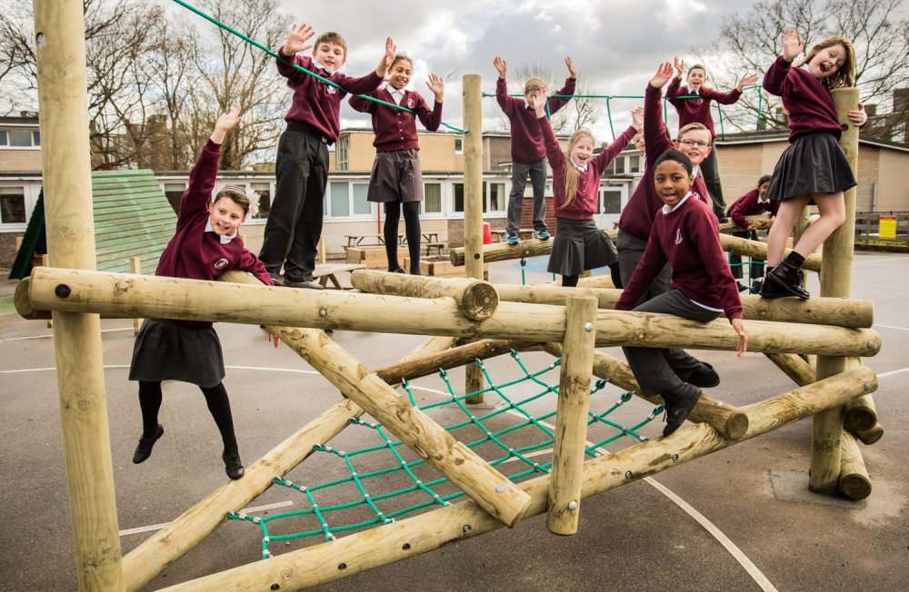 school climbing frames, playground equipment, clamber climber, Playcubed, Valley Provincial, bespoke playground equipment, bespoke playground, active play areas, bespoke playground design South East, playground construction, South East playground installation, bespoke playground design