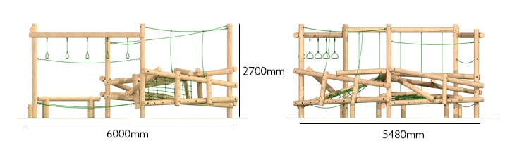 clamber climber passo, School climbing frame