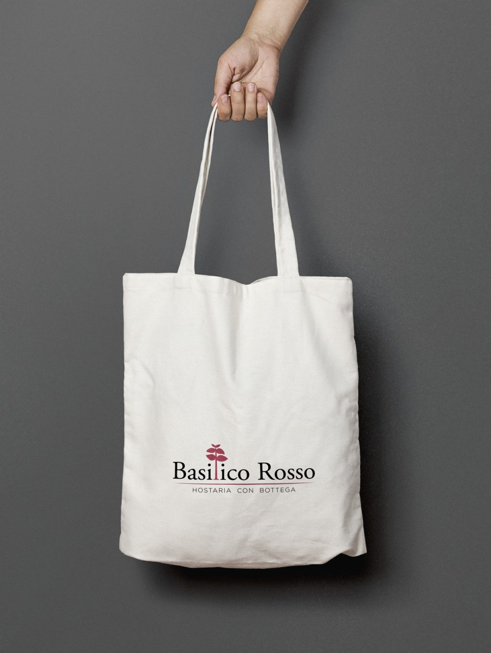 Shopping bag Basilico Rosso