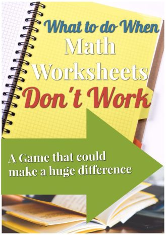 math worksheets don't work