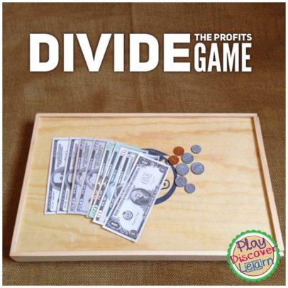 teaching children to divide money