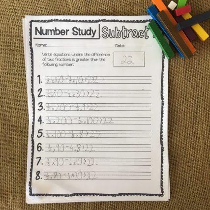 math number studies