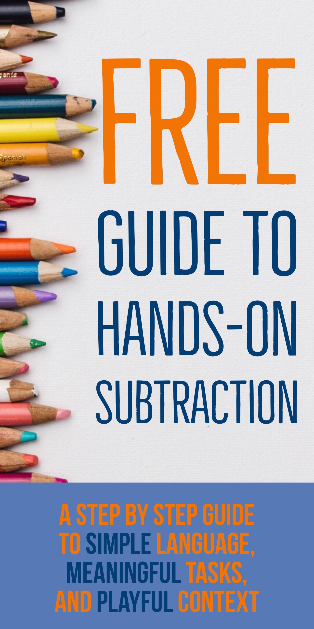 Even if you don't use Cuisenaire rods to teach subtraction, these language tips will set you up for success.  In this guide of 10 Ways to Teach Subtraction with Cuisenaire,  I lay a clear path for teaching subtraction that even makes for an easy transition into division later.