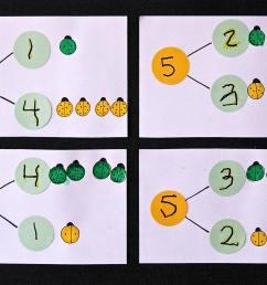 Bug Number Bonds - Playdough To Plato [ 1813 x 2763 Pixel ]