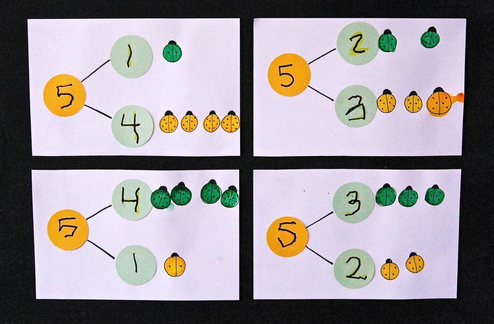 medium resolution of Bug Number Bonds - Playdough To Plato