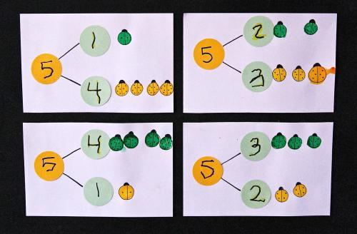 small resolution of Bug Number Bonds - Playdough To Plato