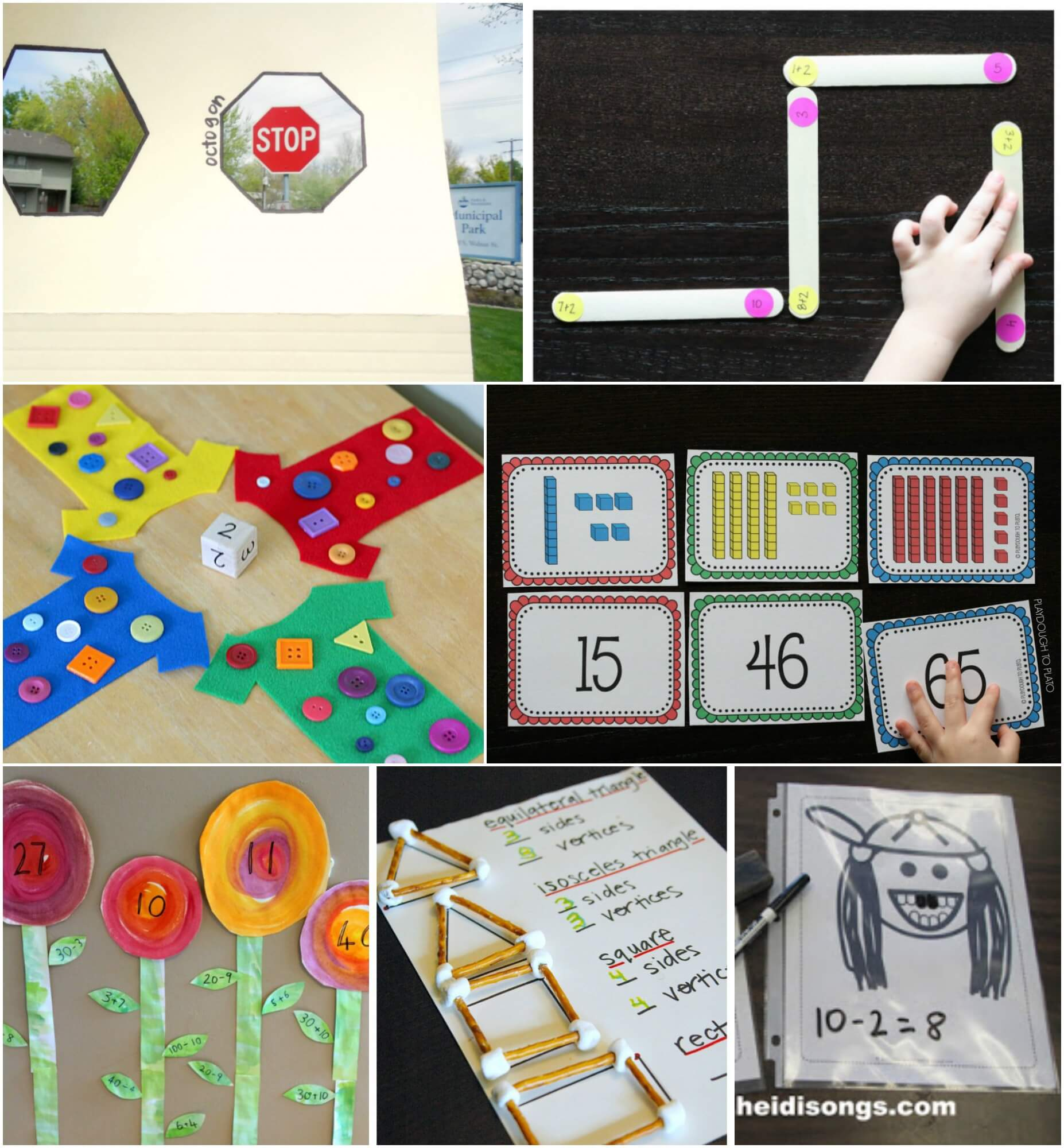 10 Spring Math Activities For Preschoolers Posts From