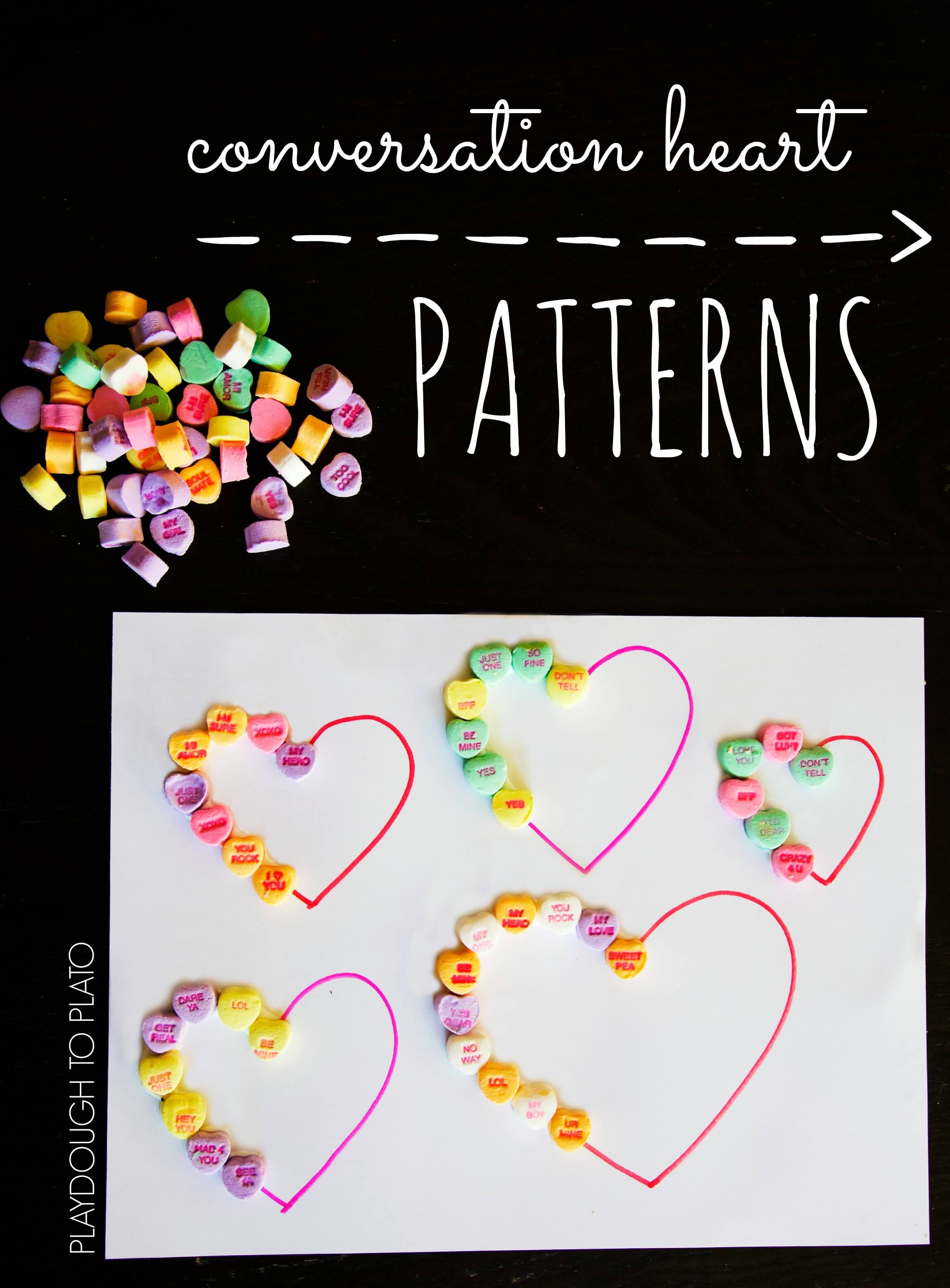 Conversation Heart Patterns