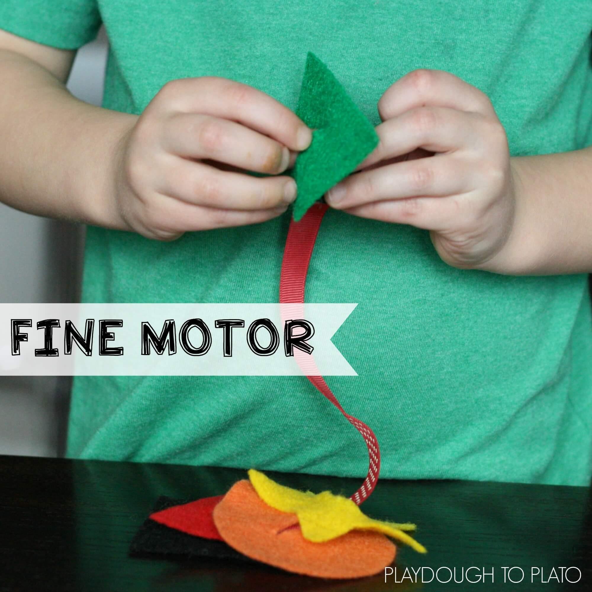 preschool activities playdough to