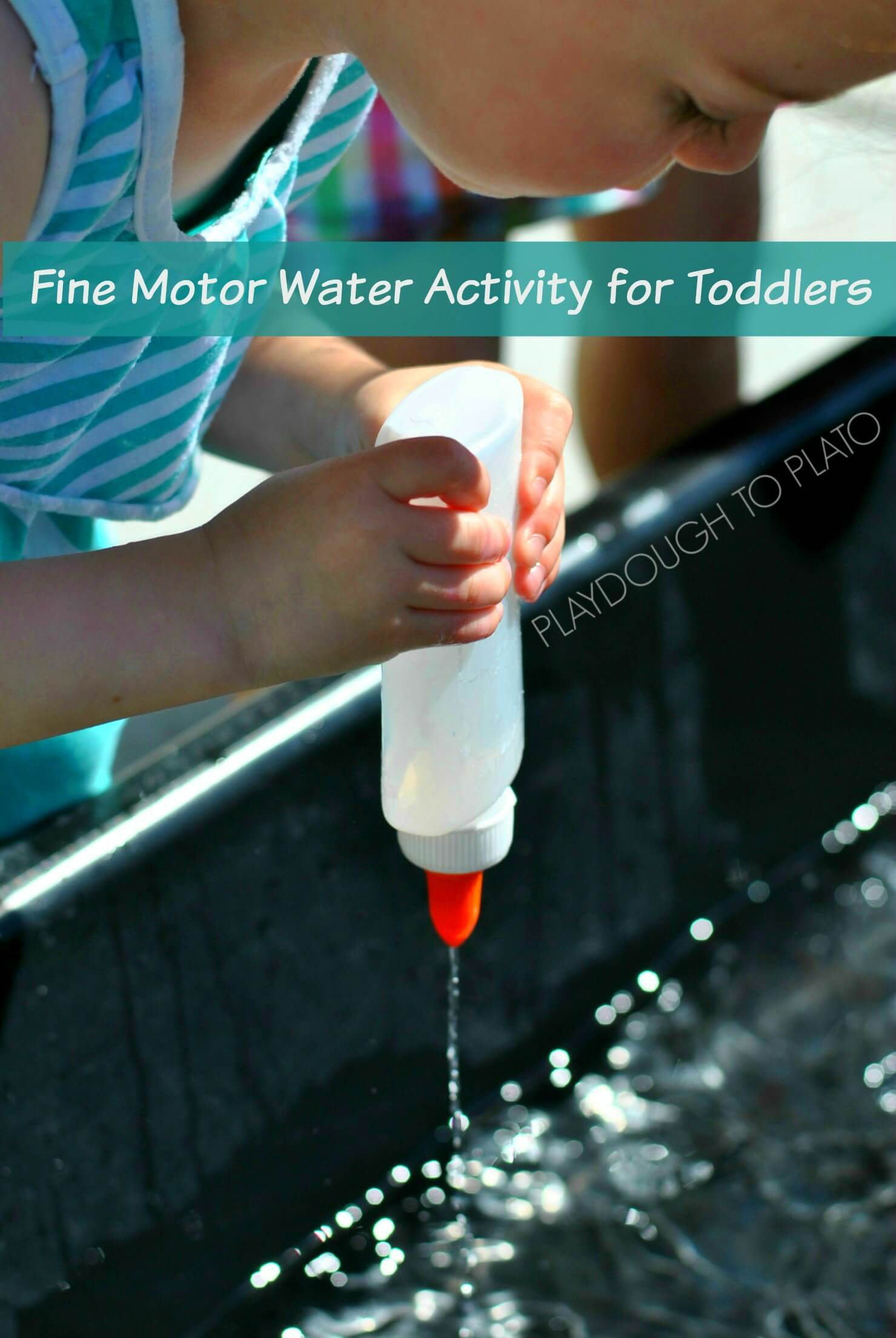 Fine Motor Water Activity For Toddlers