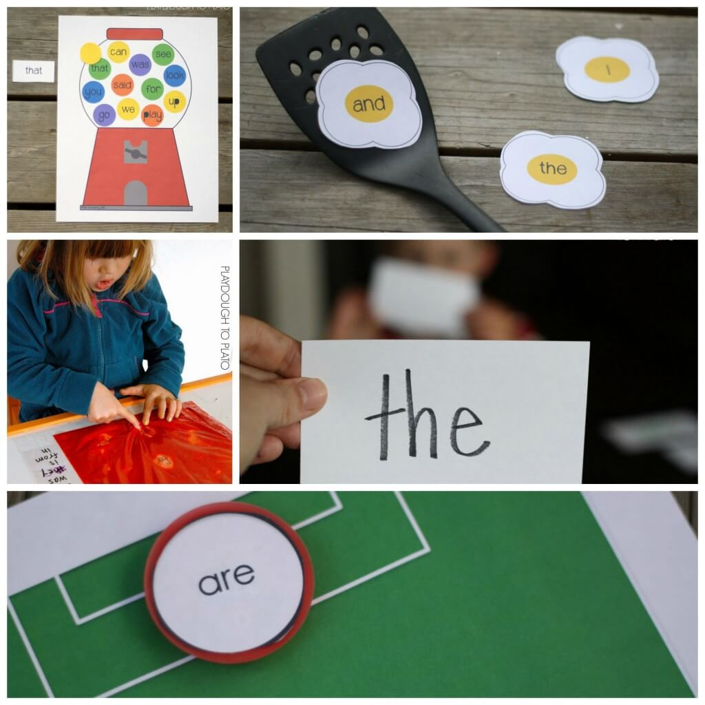 25 Super Fun Sight Word Games