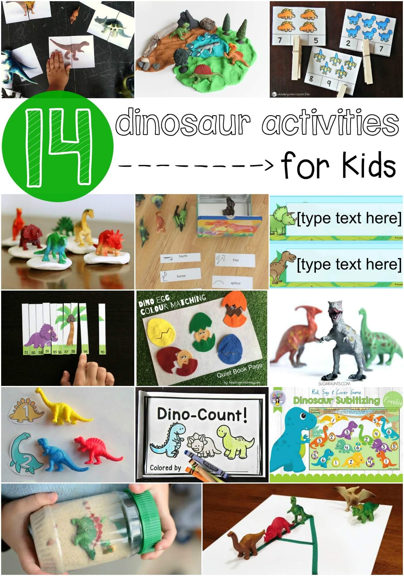 Diy Dinosaur Tangrams Amp 14 Dino Busy Bags Sugar Spice