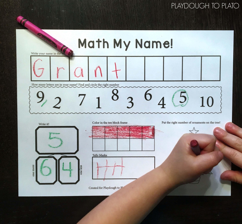 Math My Name