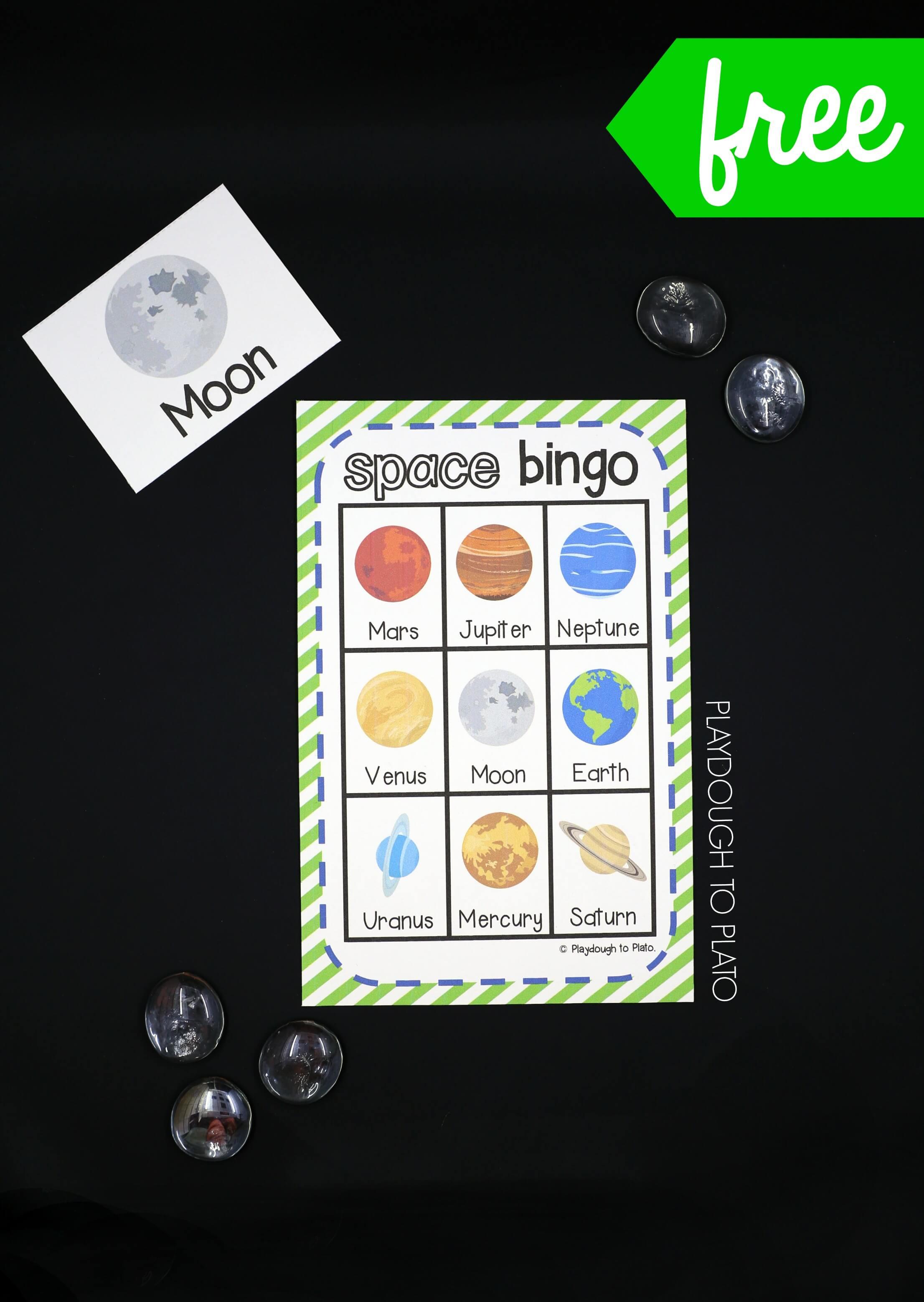 Outer Space Bingo