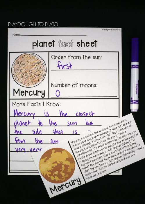 small resolution of study each planet in depth with ready to read fact cards and planet fact sheets