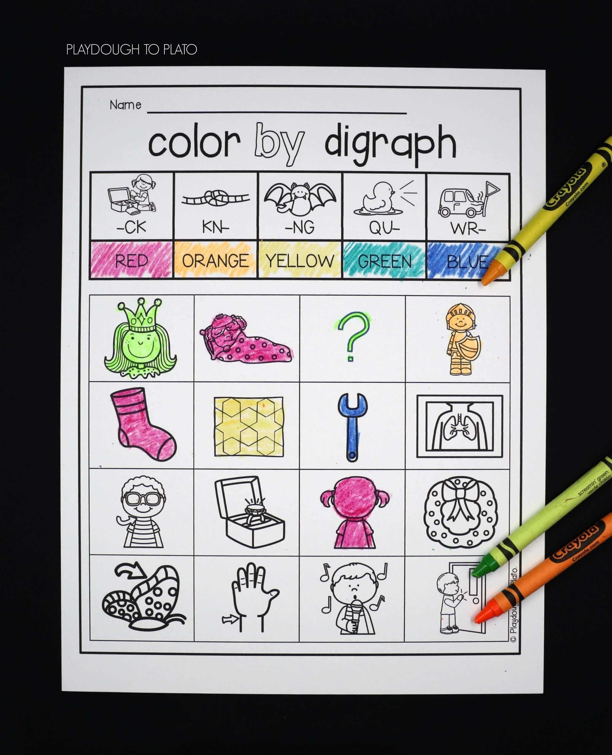 Digraph Activities