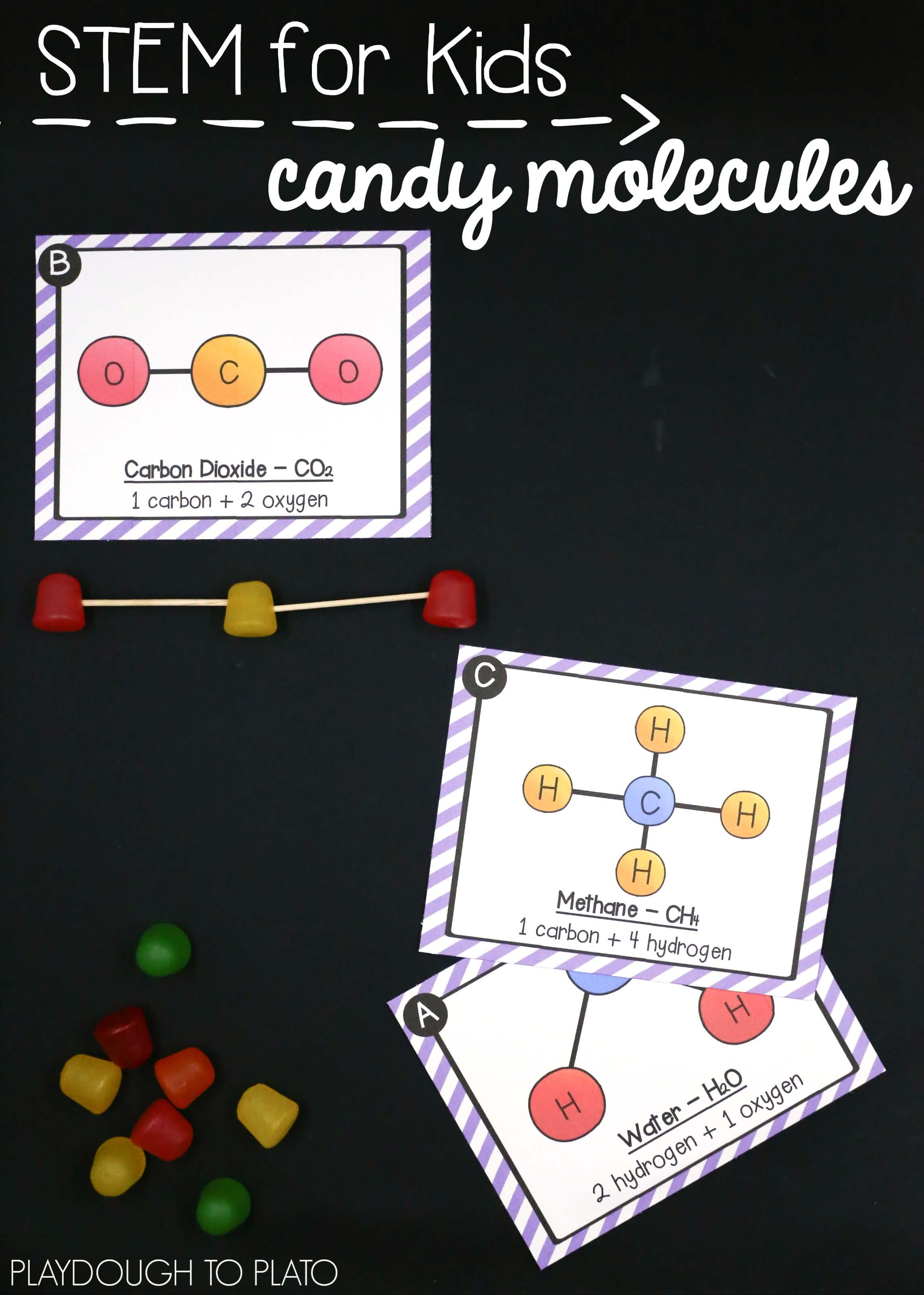 Stem Challenge Molecules And Atoms Pack