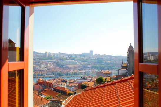ゲストハウスの窓からの眺めが最高