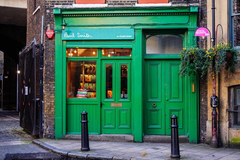Paul Smith /ロンドンの街角
