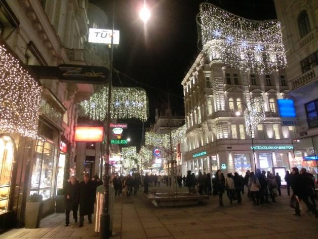 ウィーンのメインストリート