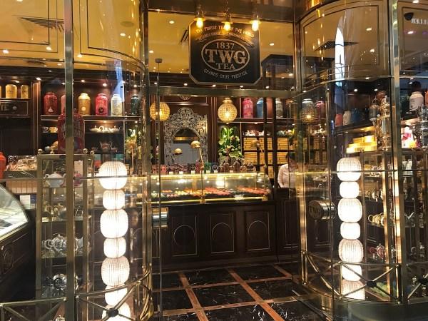 シンガポール発の高級紅茶店TWG