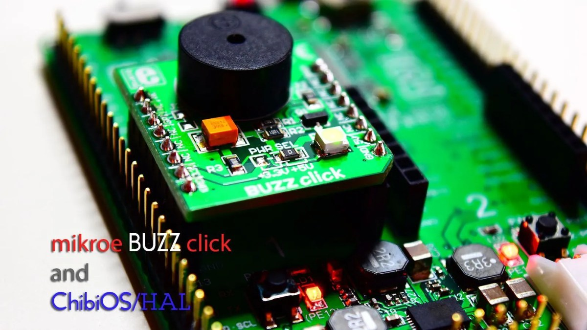 Getting started with mikroe BUZZ Click using ChibiOS/HAL
