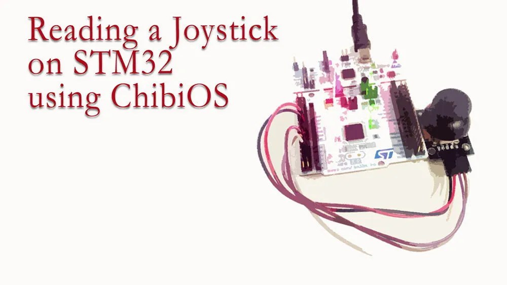 Reading a Joystick on STM32 using ChibiOS