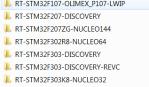 Projects folders